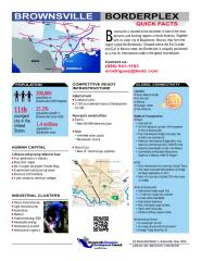 BorderPlex Quick Facts 2013.pdf