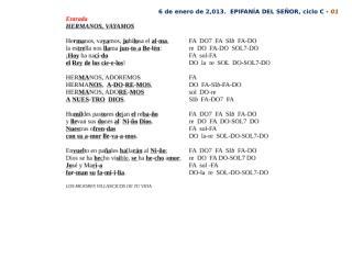 c-epifanía del señor - 05 letras con notas para interpretar.doc
