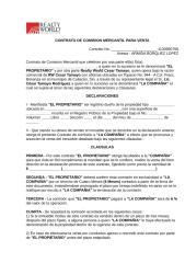 Contrato de Comisión Mercatil para Venta.doc