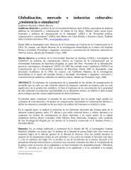 Globalización, mercado e industrias culturales.docx