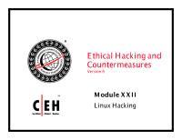 CEHv6 Module 22 Linux Hacking.pdf