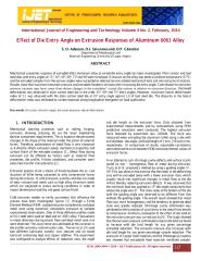 Effect of Die Entry Angle on Extrusion Responses of Aluminum 6063 Alloy.pdf