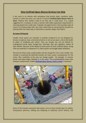 How Confined Space Rescue Services Can Help.pdf