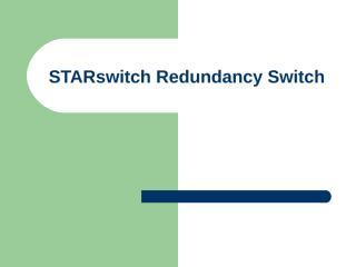 start switch.ppt