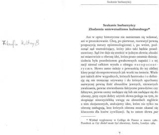 Leszeka Kołakowski - Szukanie barbarzyńcy.pdf