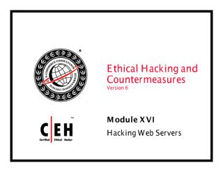 CEHv6 Module 16 Hacking Webservers.pdf