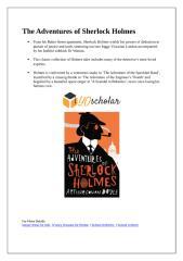 The Adventures of Sherlock Holmes.docx