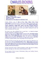 Charles dickens biography.doc