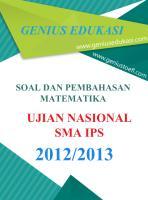Soal dan Pembahasan UN Matematika SMA IPS 2012-2013.pdf