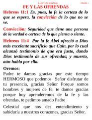 FE Y LAS OFRENDAS.doc