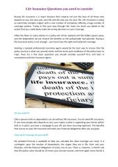 Life Insurance Questions you need to consider.pdf