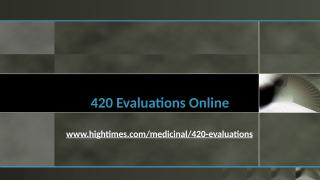 420 Evaluations Online.pptx