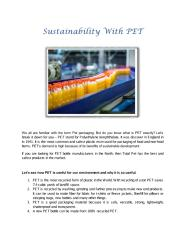 Sustainability With PET.pdf