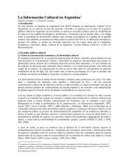 La Información Cultural en Argentina.docx
