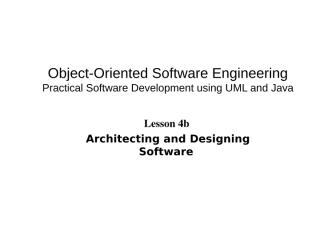 Lesson 4b-Software design.ppt
