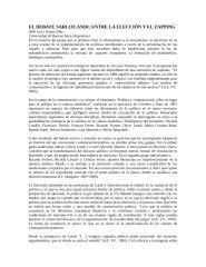 EL DEBATE SARLO-LANDI ENTRE LA ELECCIÓN Y EL ZAPPING.docx