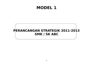 Contoh Perancangan Strategik Sekolah.doc