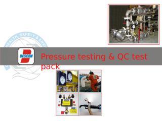 Pressure testing.ppt
