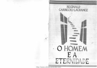O Homem e a Eternidade - Pe. Reginald Garrigou-Lagrange (obrascatolicas.com).pdf