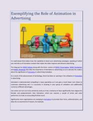 Exemplifying the Role of Animation in Advertising.pdf