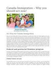 Canada Immigration.docx